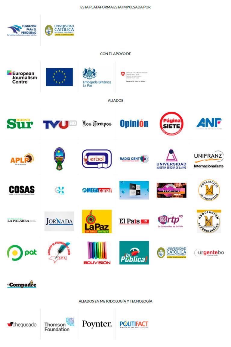 Campaña en redes sociales – Boletín 17 Bolivia Verifica