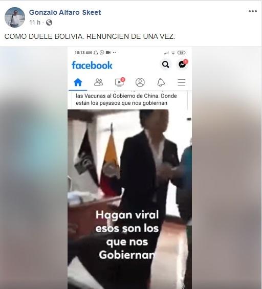 Difunden video de Ecuador como si fuese de Bolivia