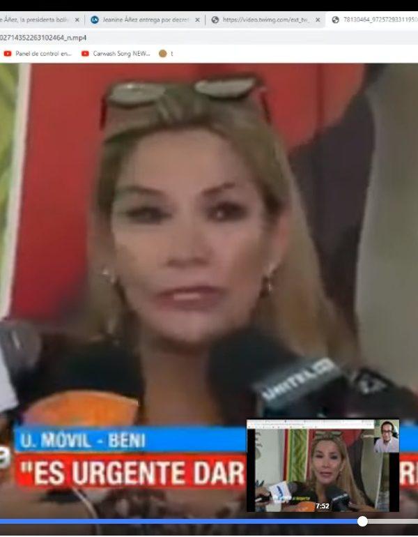 Falsas afirmaciones de youtuber mexicano sobre la realidad boliviana
