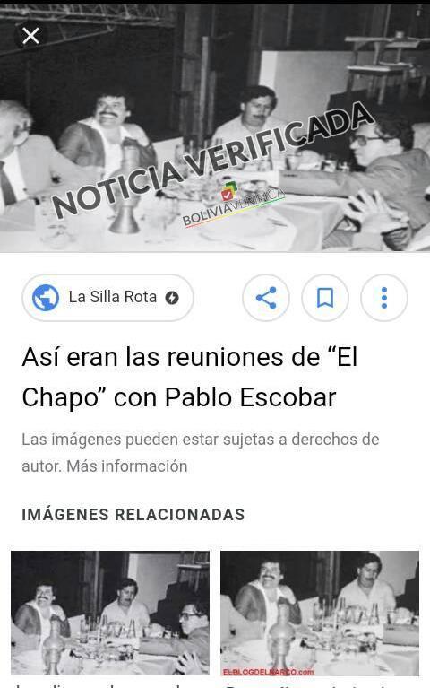 Falso el tuit de Evo saludando al Chapo y a Escobar por el Día del Maestro