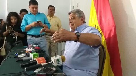 Jaime Paz Zamora declina candidatura a la presidencia