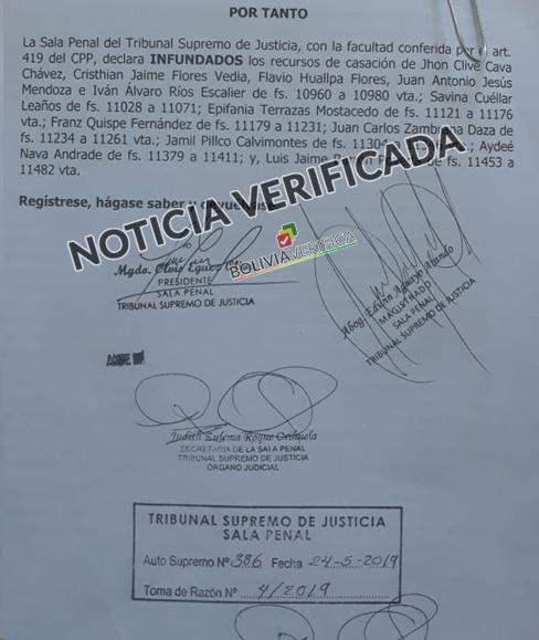 Oscar Ortiz y el caso 24 de Mayo