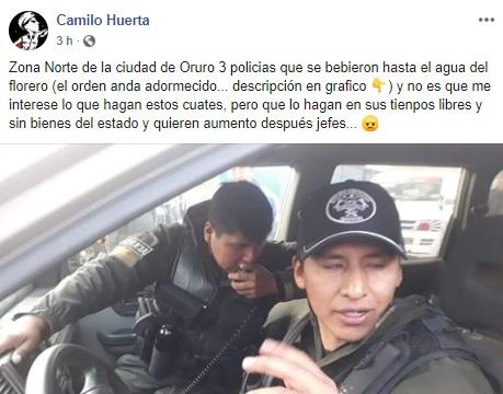 """Video de periodista que supuestamente """"amenaza a un policía"""" es de 2016"""