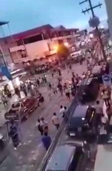 Hecho violento de 2019 en Santa Cruz circula como si fuese actual