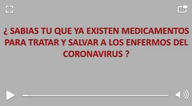 """No existe un medicamento para """"salvarse"""" del coronavirus"""
