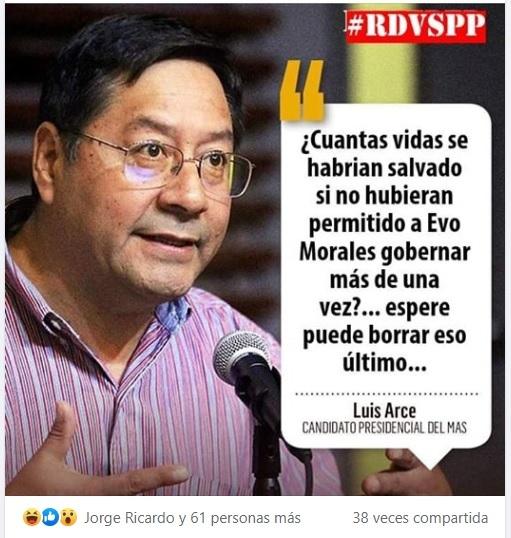 Manipulan publicaciones de El Deber para dañar imagen de dos líderes masistas