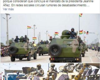 ATV Argentina usa dos imágenes antiguas para referirse a movimientos militares y policiales