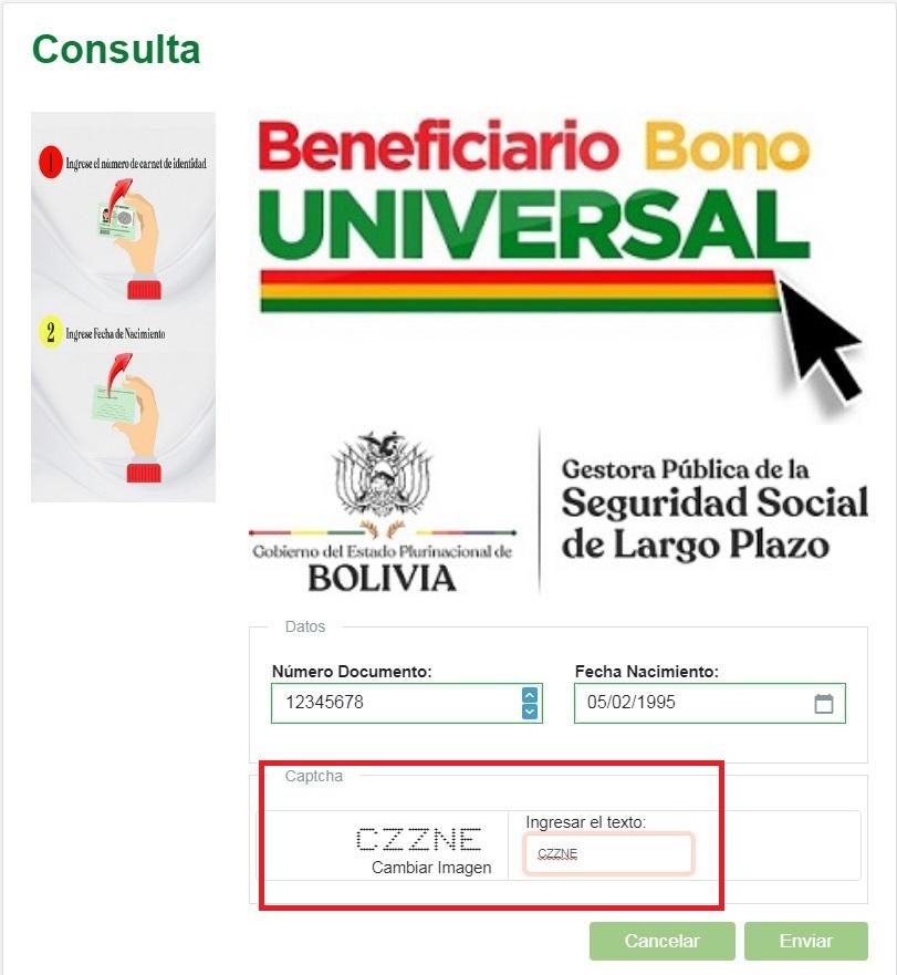 Bono Universal Gestora bo