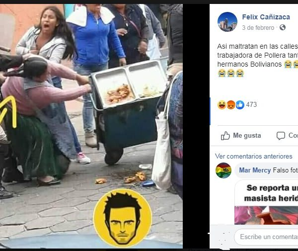 Actualización > Imágenes registradas en Perú circulan como si fuesen Bolivia