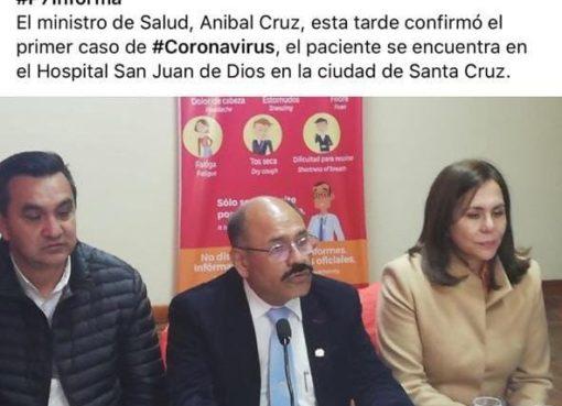 La supuesta noticia de Los Tiempos sobre Felipa Huanca con Coronavirus es un fotomontaje
