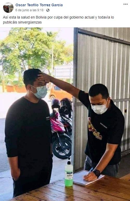 Distorsionan contenido de fotografía en Malasia para cuestionar el sistema de Salud en Bolivia