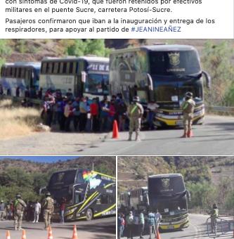 Éstas fotografías son de compatriotas que vivían en Chile, no de personas enviadas por Murillo