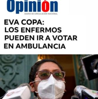 Utilizan el logo del diario Opinión y crean un titular falso