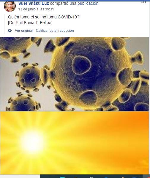 Tomar sol no evita contraer coronavirus, pero una exposición cuidadosa puede traer beneficios a la salud