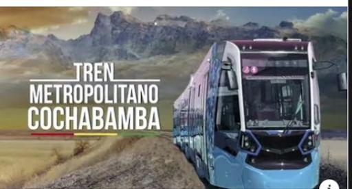 ¿Existe una advertencia sobre un posible remate de piezas del tren metropolitano para Cochabamba?