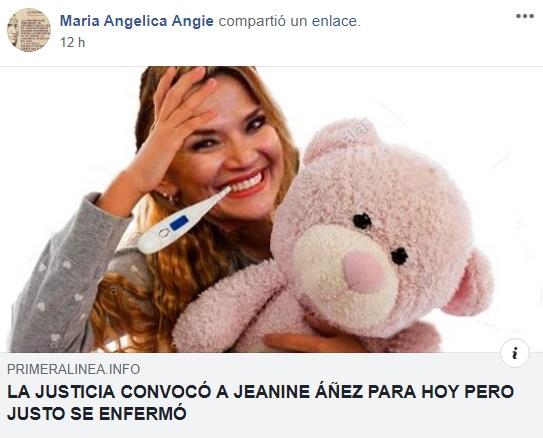 """Medio de comunicación"" difunde imagen manipulada de Jeanine Añez"