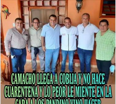 Camacho coordinó su visita a Pando con las autoridades correspondientes