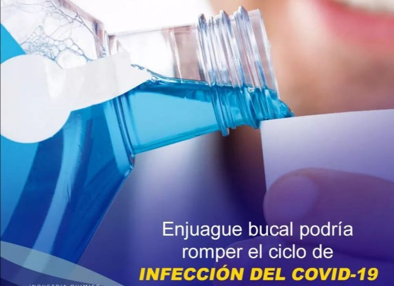 El enjuague bucal no te evitará un contagio por coronavirus