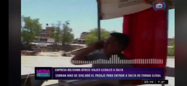 Sí, hay pasos ilegales que rompen con la cuarentena en la frontera con Argentina