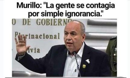 Engañosa versión en redes atribuye a ministro Murilo relacionar ignorancia con contagios