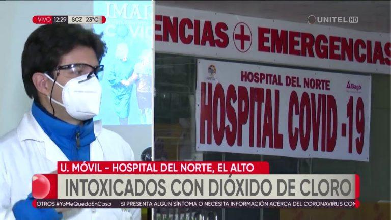 Reportan pacientes intoxicados con dióxido de cloro en Bolivia