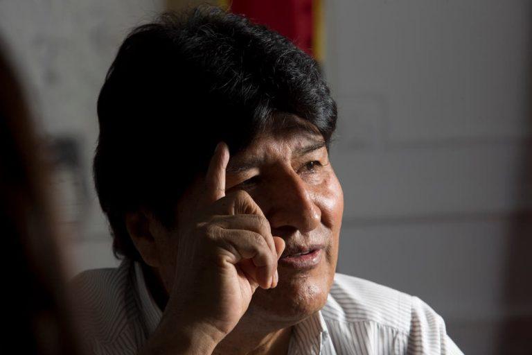 Desde abril, Evo Morales dice que el coronavirus es una guerra biológica