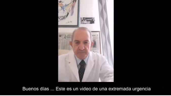 Tres mentiras sobre la COVID19 en un video de un médico italiano