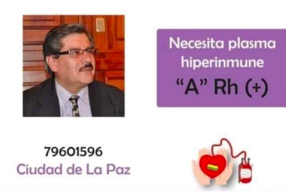 Waldo Albarracín ya salió de UTI y no necesita plasma hiperinmune