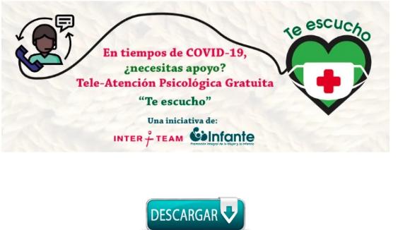 Aplicación que brinda atención psicológica, gratuita y confidencial a pacientes con COVID-19 es segura