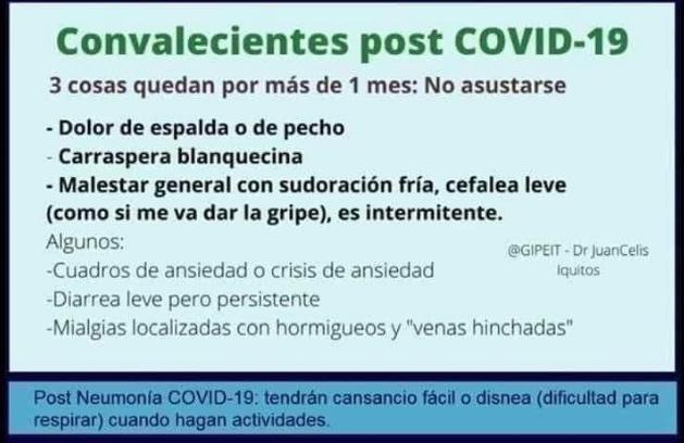Estudios preliminares advierten secuelas en pacientes que vencieron el coronavirus