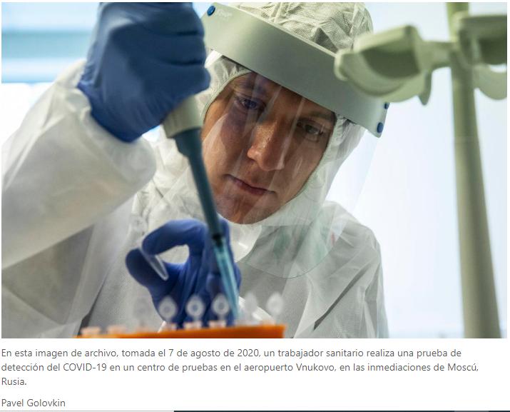 La OMS aún no dio su visto bueno a la vacuna Rusa, pero la estudia