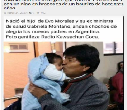 """Publicación de """"Bolivia Verifica"""""""