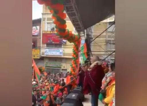 Video que refleja el apoyo de El Alto a Carlos Mesa en 2019 vuelve a circular como si fuera actual