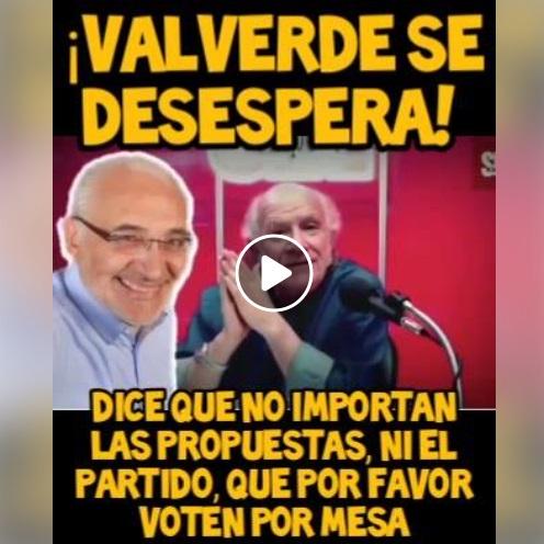 Carlos Valverde no pidió votar por Carlos Mesa sin importar su propuesta