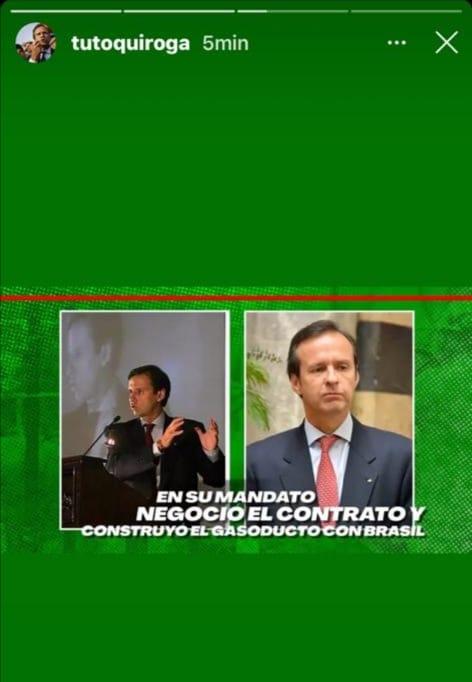 Negociación del contrato de venta de gas a Brasil fue en el Gobierno de Jaime Paz