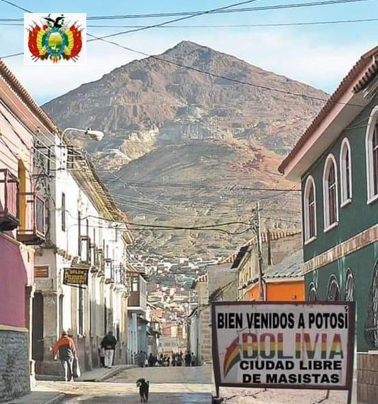 Se viraliza foto manipulada de Potosí contra el MAS