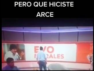 Arce no dijo que Evo falló al país, es un video manipulado