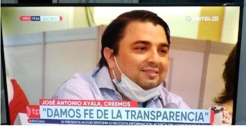 Delegado de CREEMOS avaló transparencia del Tribunal Electoral de Santa Cruz