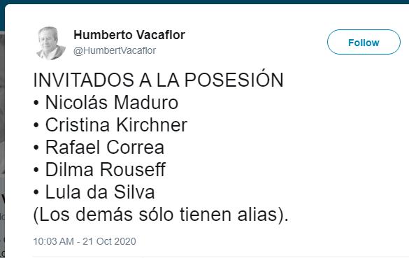 Transmisión de mando: todavía no se ha definido quiénes serán los invitados a la posesión de Luis Arce
