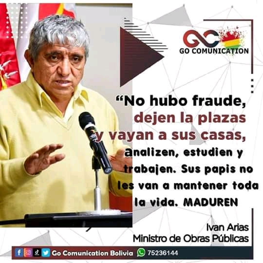 Manipulan declaración de ministro Iván Arias y la comparten en redes
