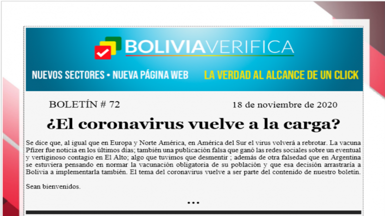Boletín 72 – ¿El coronavirus vuelve a la carga? – 2020