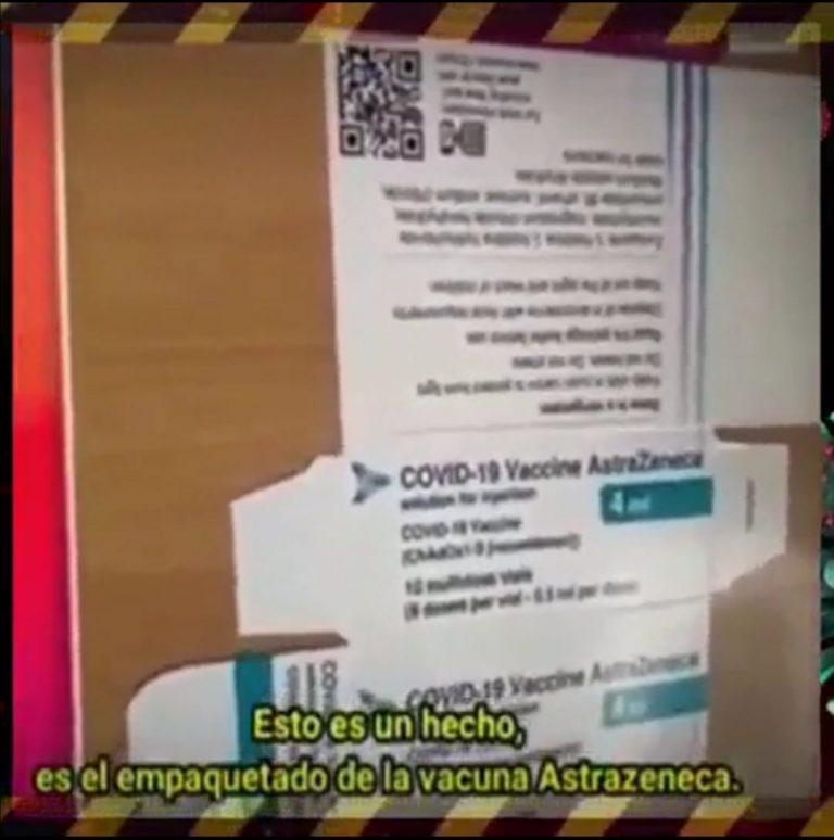 Vacuna AstraZeneca no contiene tejido pulmonar de un feto abortado