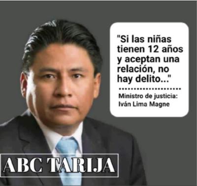 Atribuyen declaración falsa al nuevo ministro de Justicia, Iván Lima