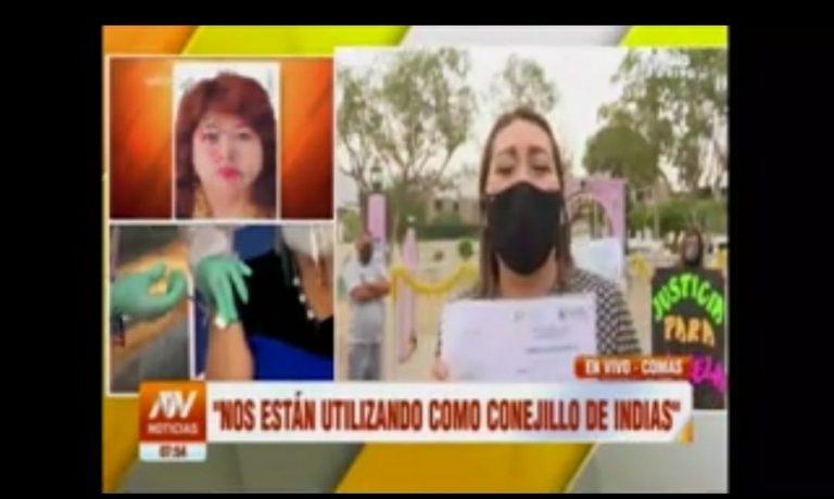 Muere una voluntaria de las pruebas de la vacuna contra la Covid-19 en Perú pero no a causa del fármaco