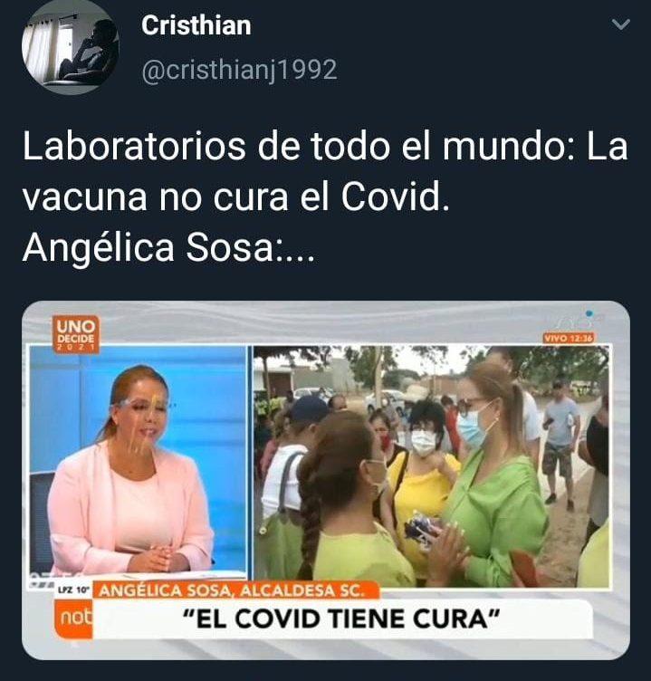 Alteran entrevista de Angélica Sosa para difundir contenido engañoso sobre la Covid-19
