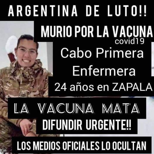 No es verdad que una enfermera argentina murió tras recibir la vacuna Sputnik V