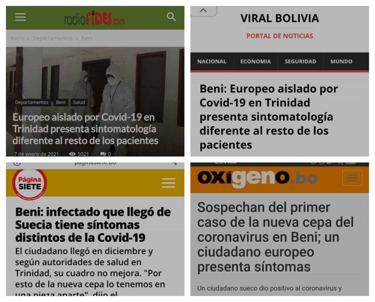 No hay evidencia de que la nueva cepa de coronavirus provoque otros síntomas