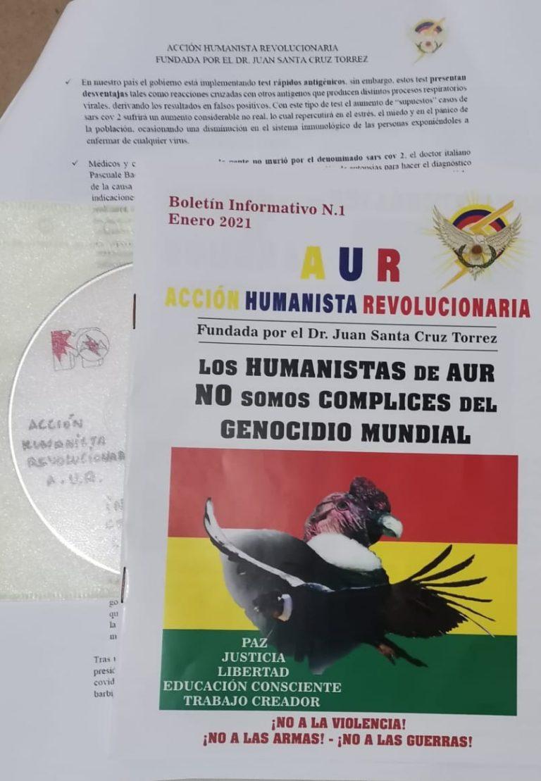 Negacionistas lanzan boletín con falsos postulados sobre la pandemia por Covid-19