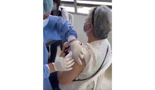 Video de jeringa vacía en Colombia se trató de un error que luego fue enmendado
