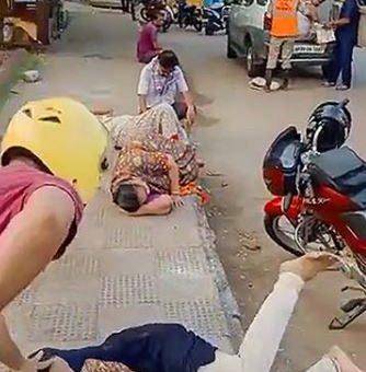 Video de fallecidos en las calles de India no tiene relación con vacunas contra la Covid-19